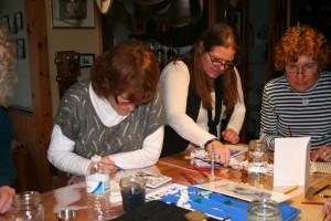 Watercolor Gathering Participants