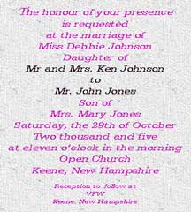 Formal Wedding Invite Wording for amazing invitation template