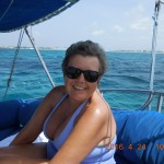 Sailing on the ocean blue